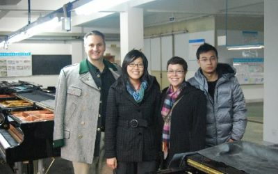 Florida State University Students Visit Hailun Piano Factory